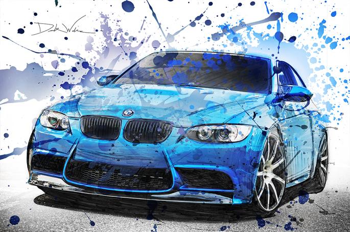 BMWM3ArtFb