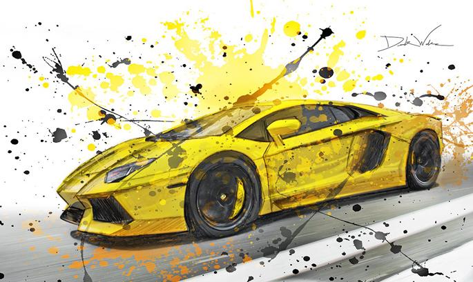 yellowaventadorart