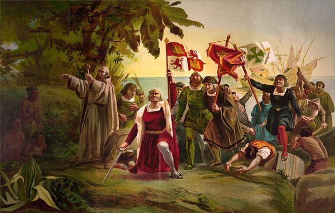 Columbus tìm ra châu Mỹ
