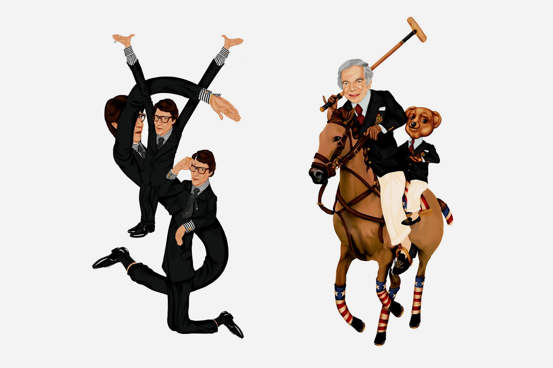 Yves Saint-Laurent - Ralph Lauren