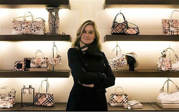 Angela Ahrendts - CEO Burberry