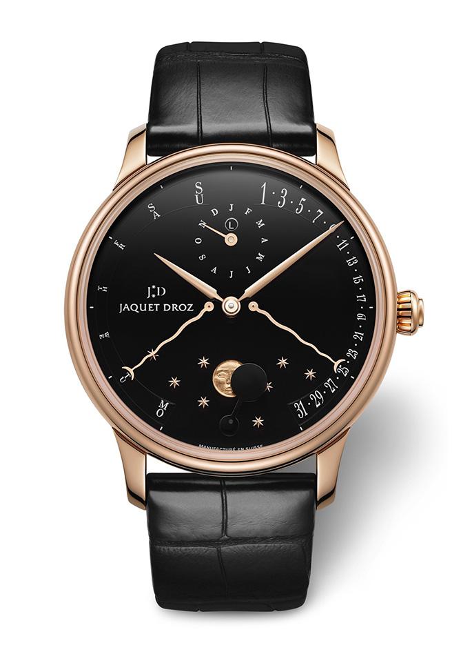 Đồng hồ có vỏ bằng vàng hồng