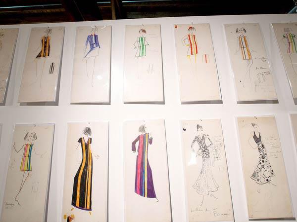 Karl Lagerfeld-Tiziani-sketches