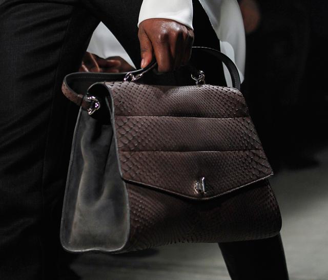 Narciso-Rodriguez-Fall-2014-Snakeskin-Top-Handle-Bag
