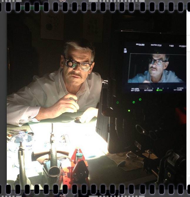 """Bức ảnh được lấy từ tài khoản Instagram của Pierce Brosnan trong set ảnh """"The Watchmaker"""""""