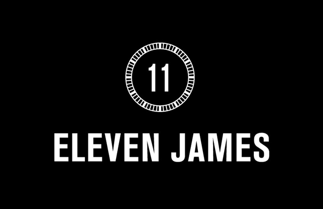 Eleven James Black Logo