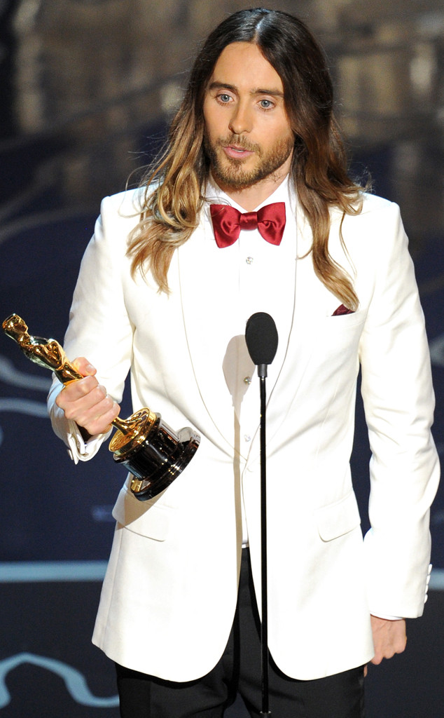 Jared Leto, tác giả của bài diễn văn nhận giải hay nhất Oscar năm nay