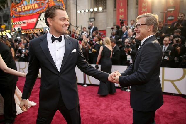 Dù đã bắt tay người đoạt giải Nam phụ xuất sắc nhất năm ngoái nhưng Leonardo DiCaprio vẫn không xóa được dớp đen tại Oscar