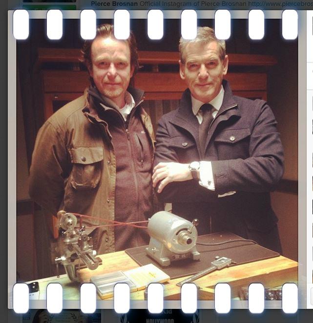 Nghệ nhân chế tác đồng hồ độc lập Peter Speake-Marin và tài tử Hollywood, Pierce Brosnan