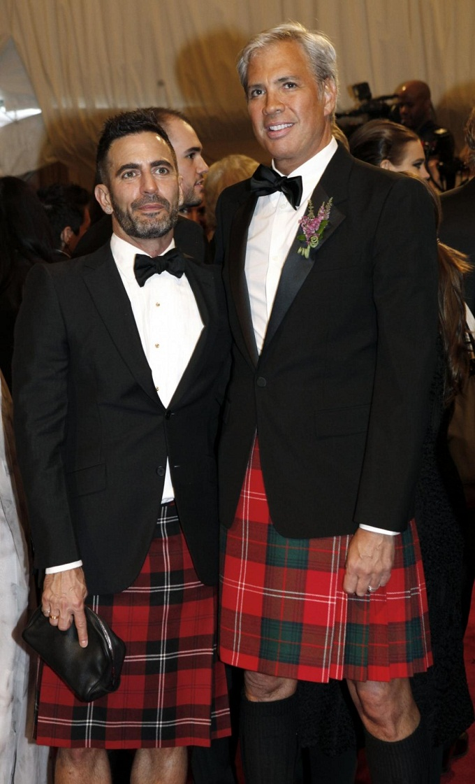 Marc Jacobs và Robert Duffy