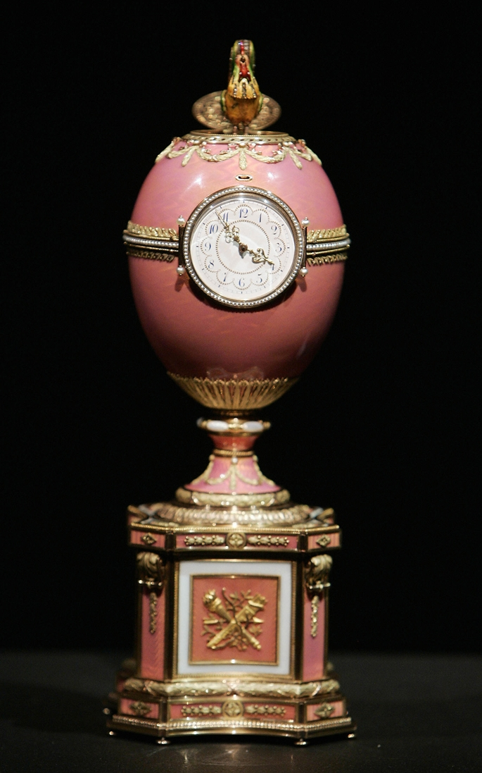 The newly discovered Rothschild Faberge
