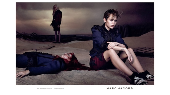 Miley Cyrus trở thành gương mặt đại diện cho Marc Jacobs trong chiến dịch quảng cáo Xuân Hè 2014
