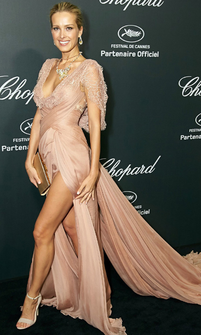 3. Petra Nemcova - Elie Saab Haute Couture