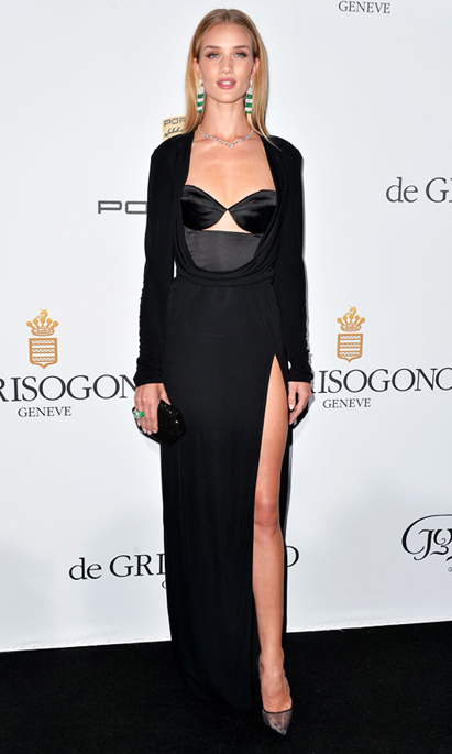 5. Rosie Huntington-Whiteley - Salvatore Ferragamo
