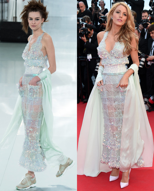 Blake Lively - Chanel Couture SS2014