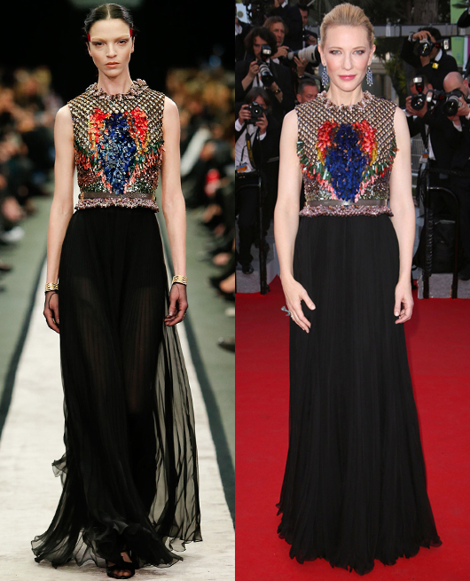 Cate Blanchett - Givenchy by Riccardo Tisci AW2014-15