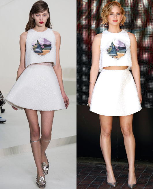 Jennifer Lawrence - Dior Couture SS2014