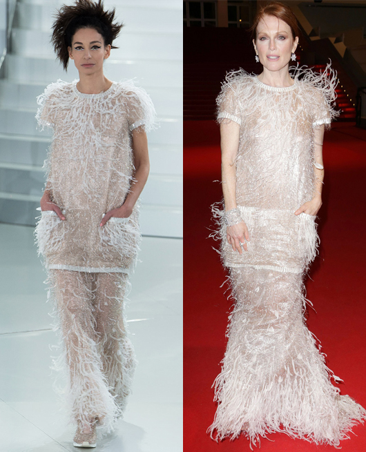 Julianne Moore - Chanel Couture SS2014