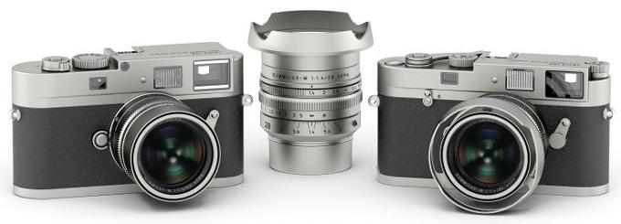 Leica M-A phiên bản đặc biệt cùng với ống kính Summilux tiêu cự 28mm độ mở f1.4