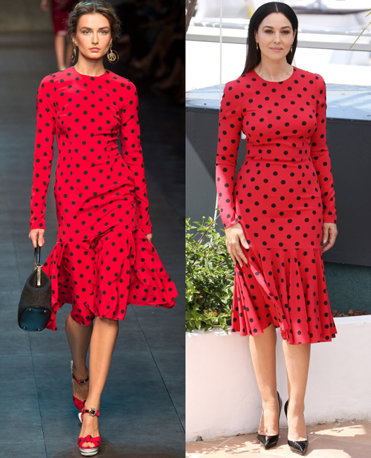Monica Bellucci - Dolce & Gabbana SS2014