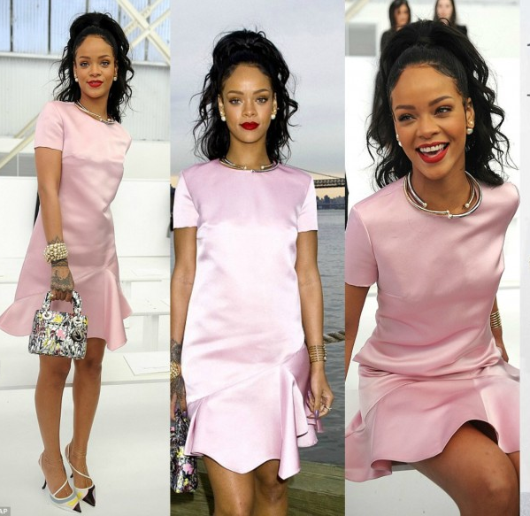 Rihanna mặc Dior