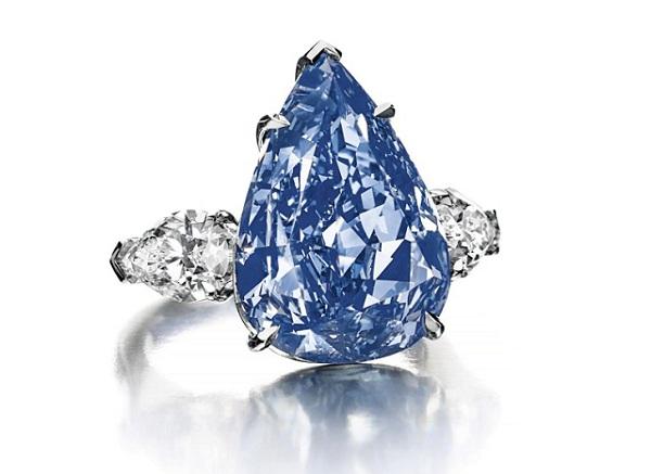 Kim cương The Blue 13,22 carat