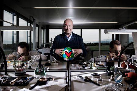 Ông Jean-Claude Biver đã tác hợp thành công mối duyên World Cup và Hublot đem lại lợi nhuận khổng lồ cho hãng đồng hồ Thuỵ Sĩ