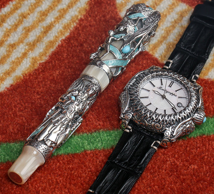Montegrappa-Guardian-Angel-watch-4