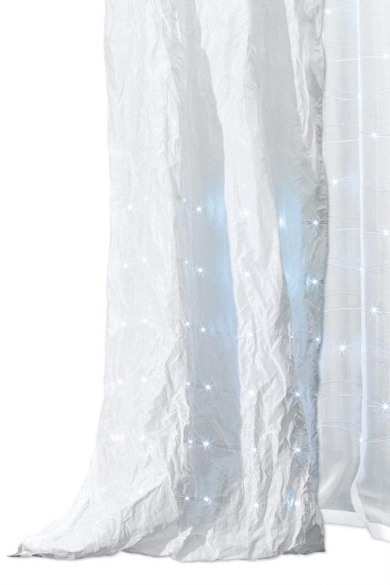 "Vải dệt Baumann ""eLumino"" lấp lánh."