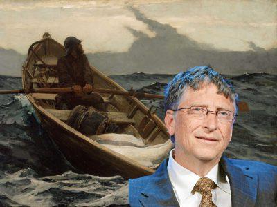 Bill Gates vẫn đang sở hữu một bộ sưu tập nghệ thuật đồ sộ dù hiện nay ông đã ngừng đầu tư vào thú chơi này.
