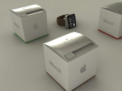 Một hình ảnh dự đoán về iWatch, mẫu đồng hồ thông minh Apple sắp cho ra lò
