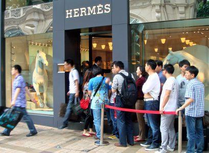 Lợi nhuận của Hermès nửa đầu năm vẫn tăng trưởng tốt nhờ thị trường châu Á