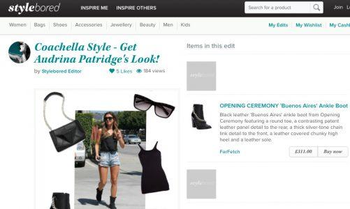 """StyleBored tạo nên một mạng xã hội """"lai"""" cửa hàng trực tuyến cho những tín đồ thời trang"""