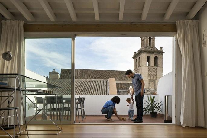 Nhà của kiến trúc sư Sevilla - Ảnh Fernando Alda