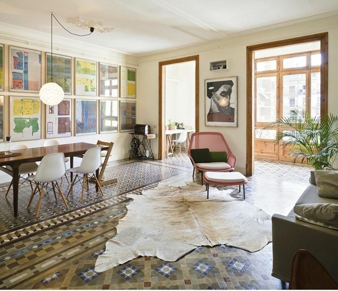 Nhà của hai kiến trúc sư ở Barcelona - Ảnh Tiia Attala