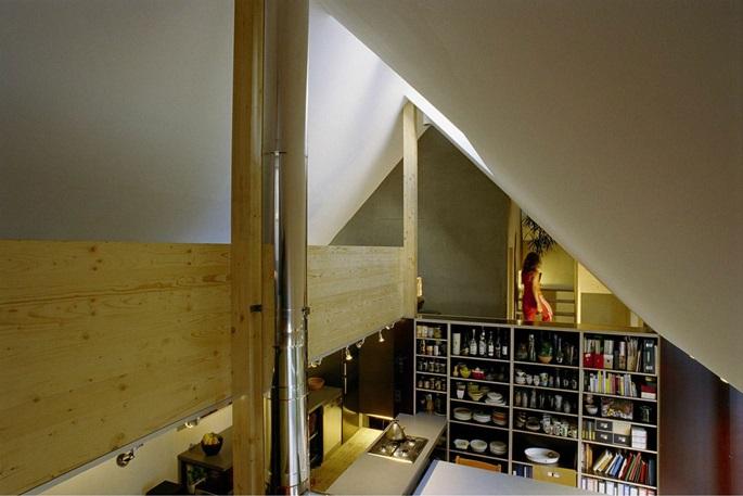 Nhà của một kiến trúc sư ở Vienna - Ảnh Hurta Hurnaus