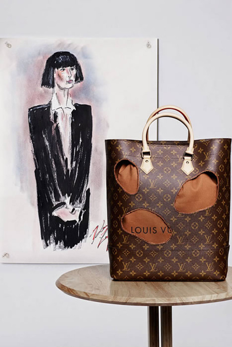LuxeVN-Rei_Kawakubo_Louis_Vuitton_bag