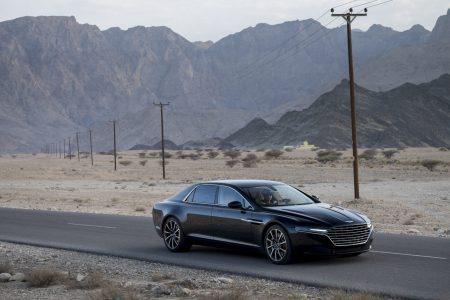 Aston Martin Lagonda đời 2015 trên đường chạy thử tại sa man Oman