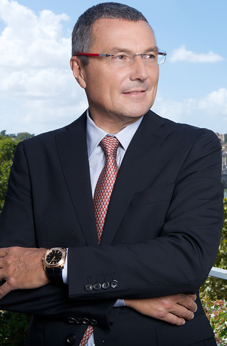 Jean-Christophe BABIN. President of Bulgari. © david atlan/ Bulgari