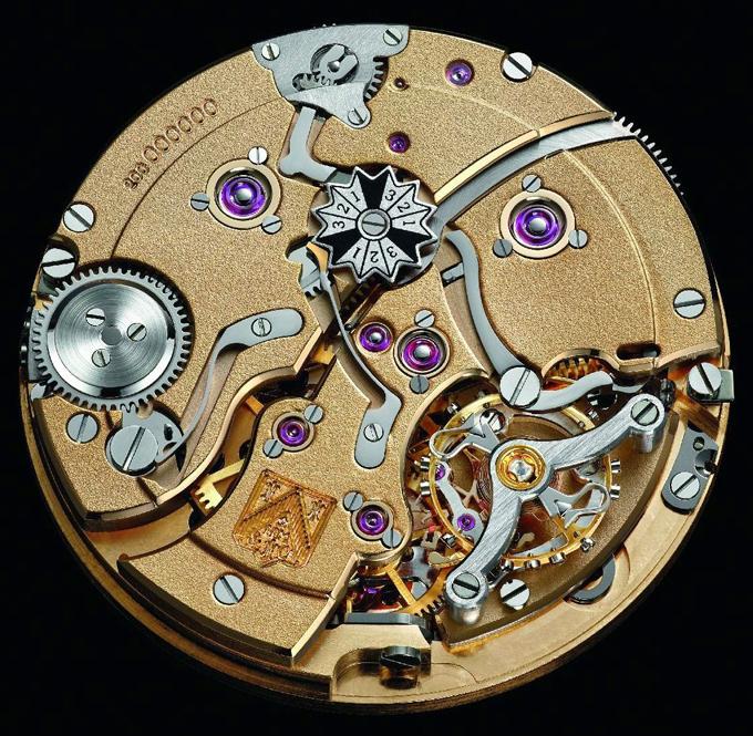Con dấu và mặt sau của đồng hồ H.Moser&Cie