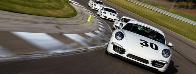 Porsche-Driving