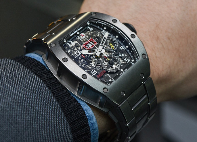 Richard-Mille-RM011-Massa-Bracelet