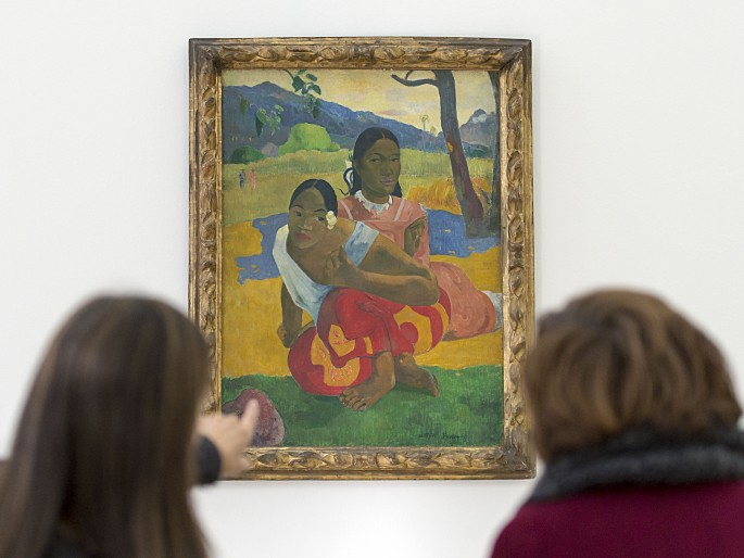 Switzerland Gauguin Painting