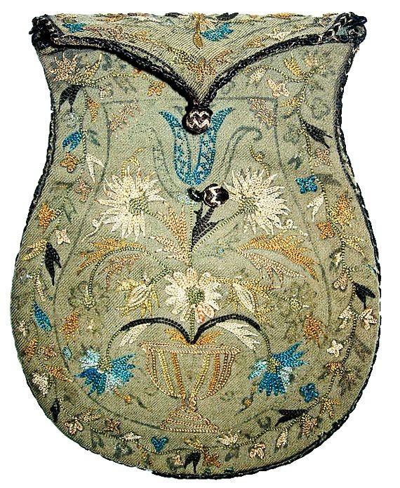 Túi trước năm 1800