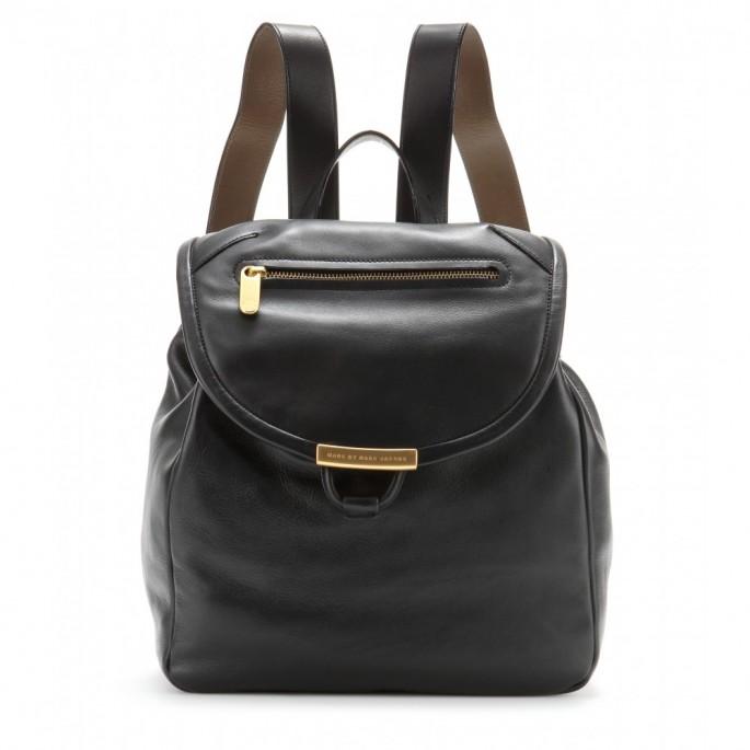 Backpack bag (ba-lô): loại túi có hai quai đeo sau lưng. Khác với túi Duffel hình trụ, backpack có kiểu dáng linh hoạt hơn nhiều. Ảnh: ba-lô của Marc by Marc Jacobs