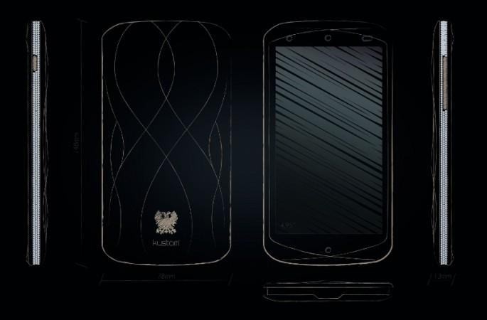 EGO is Born, the Luxury Smartphone KUSTOM
