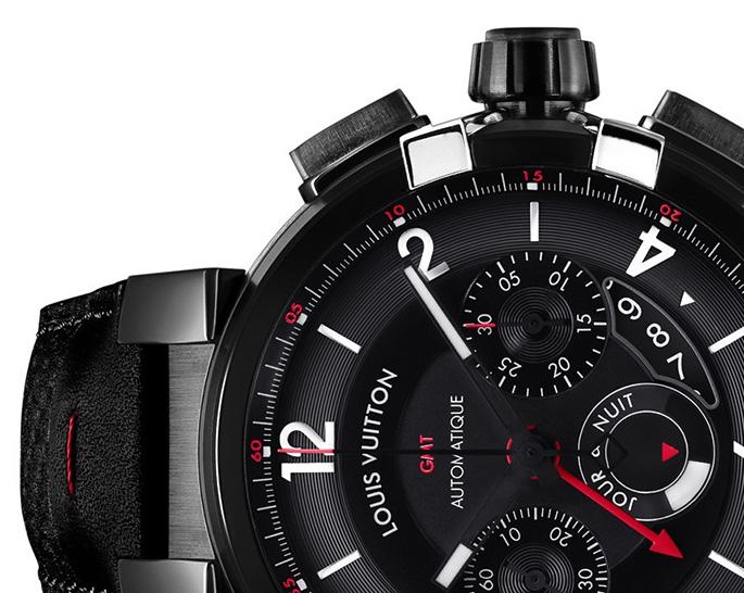 Louis-Vuitton-Tambour-eVolution-gmt-black-watches-2