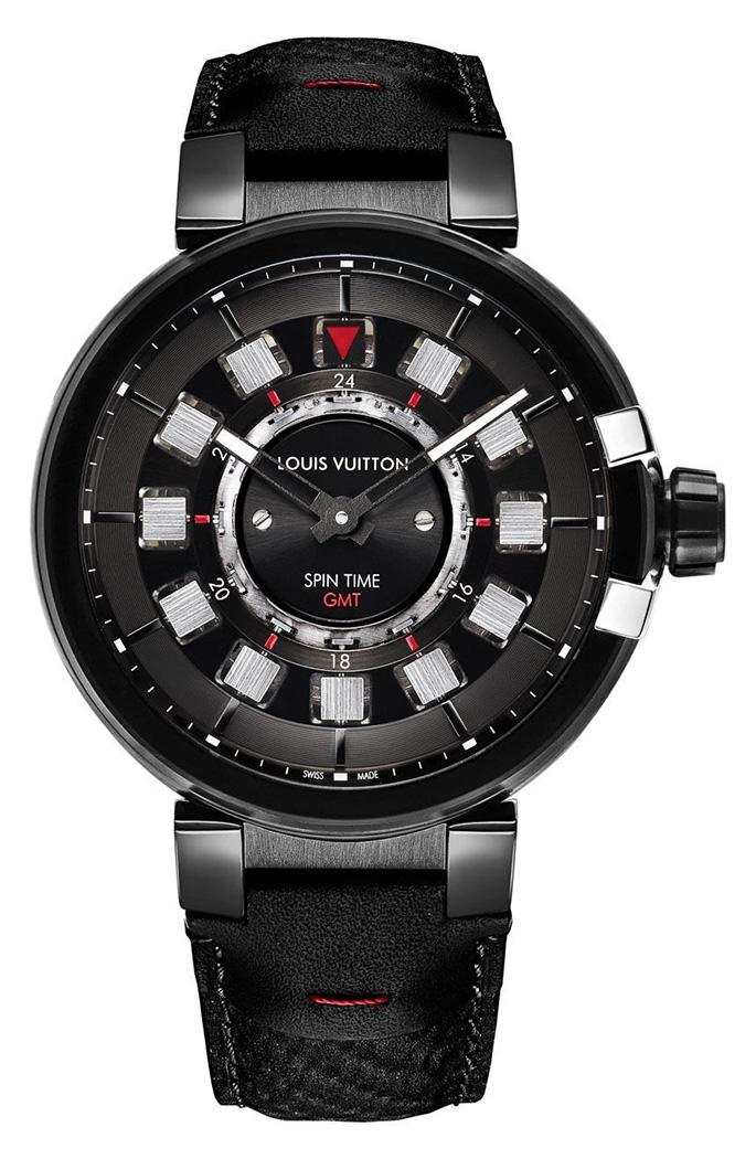 Louis-Vuitton-Tambour-eVolution-gmt-black-watches-5