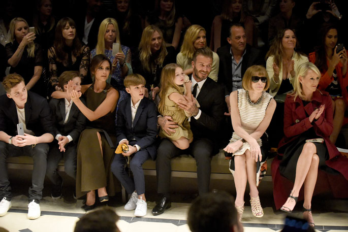 """Burberry """"London In Los Angeles"""" Event- Inside"""