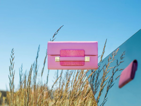 Delvaux-Spring-Summer-2015-bags-madame-portefeuille-long-polo-galuchat-flamingo
